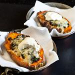 Caribbean Stuffed Sweet Potatoes 5 Appetizer