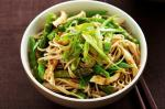 Japanese Japanese Poached Chicken And Soba Noodle Salad Recipe Appetizer