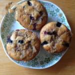 Hungarian Blueberry Muffins with Streusel Dessert