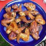 Chinese Glac Stewed Chicken Wings BBQ Grill