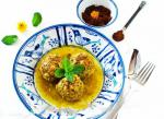 Iranian/Persian Koofteh Somagh  Persian Rice Meatballs with Sumac Appetizer