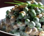 Asian Pea and Peanut Salad 1 Appetizer