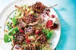 Moroccan Moroccanstyle Lamb Cutlets With Rose And Pomegranate Recipe Dessert