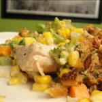 American Stuffing-crusted Creamy Chicken Casserole Dinner