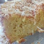 Brazilian Tres Leches Cake with Coconut Appetizer