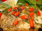American Chicken With Garlic Chilli Bay Leaves and Rosemary Appetizer