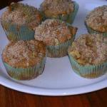 American Muffins Apples with Crumble to Walnut Dessert
