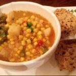 American Chowder Quinoa Corn and Peas Appetizer