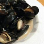 American Cooking of Mussels Appetizer
