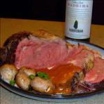 Canadian Prime Rib Roast with Madeira Wine Sauce BBQ Grill