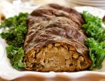 British Seitan Roulade With Oyster Mushroom Stuffing Recipe Appetizer