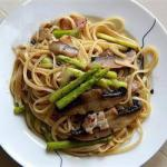 Australian Tagliatelle with Mushrooms and Asparagus 1 Appetizer