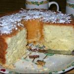 Canadian Coconut Cream Pound Cake Dessert