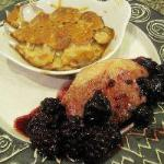 Canadian Duck Magret with Morello Cherries and Blackberries Dessert