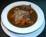 American Hearty Beef and Barley Soup 3 Appetizer