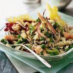 American Salad Risi Bisi Ham Appetizer