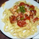 American Pulp to Chicken and Fresh Tomatoes Appetizer