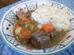 Irish Irish Lamb Stew With Goat Cheese Dumplings Dinner