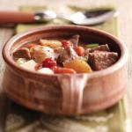 Indian Traditional Beef Stew Dinner