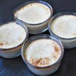 American Flancitos of Coconut and Cinnamon Without Milk Breakfast