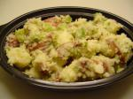 American Garlic Scapes  Potato Salad Appetizer