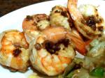 American Boiled Shrimp With Spicy Butter Sauce Dinner