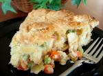 American Chicken Dinner Pot Pie Dinner