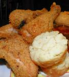 American Great Southern Oven Fried Chicken Dinner