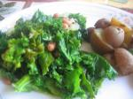 American Blackeyed Peas with Garlic and Kale Dinner