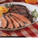 French Tender Flank Steak BBQ Grill