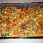 American Broccoli with Cheese to the Oven Appetizer