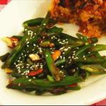 French French Beans with Sesame Dressing Breakfast