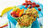 Australian Pea And Noodle Fritters Recipe Appetizer