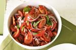Australian Tomato And Mint Salad Recipe Appetizer