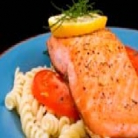 Canadian Oven-Roasted Salmon Appetizer