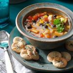 Mexican Skillet Southwestern Chicken Soup Appetizer