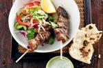 Indian Spiced Beef Skewers With Yoghurt Sauce Recipe Appetizer