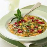 American Fresh Soup of Fruit Appetizer
