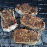 American Grilled Jerk Pork Chops with Jerk Compound Butter BBQ Grill