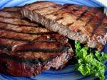 American Grilled Sirloin in Bourbon Marinade BBQ Grill