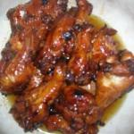 Chinese Sesame Oil Chicken Wings Recipe Appetizer