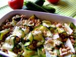 American Simple and Healthy Zucchini Salad With Pine Nuts Dinner