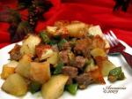 Italian Potato and Sausage Bake Appetizer