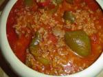 American My Stuffed Bell Peppers Soup Dinner