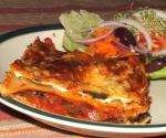 American Three Cheese Spinach Lasagna 3 Dinner