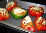 Israeli/Jewish Vegetarian Stuffed Bell Peppers 4 Appetizer