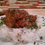 Indian Chicken with Curry Home Dinner