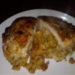 Canadian Stuffed Pork Chop Dinner