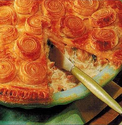Canadian Chicken And Leek Pie Appetizer