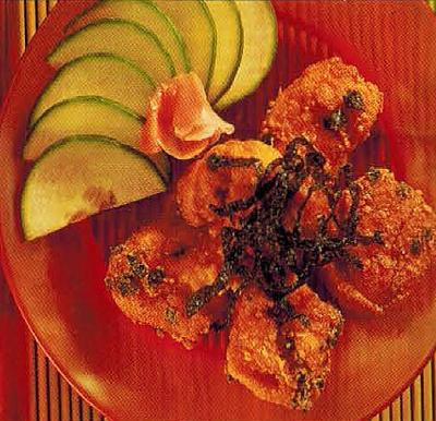 Canadian Deep-fried Chicken With Seaweed Appetizer